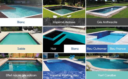 Piscine enterr e piscine hors sol bois sur chartres 28 for Liner piscine couleur sable